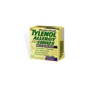 Allergy Sinus Maximum Strength (Apap/Chlorpheniramine/Pseudoephedrine)