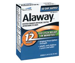 Alaway (Ketotifen Ophthalmic)