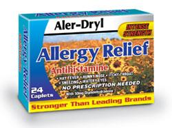 Aler-Dryl (Diphenhydr Amine)