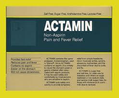 Actamin (Acetaminophen)