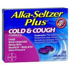 Alka-Seltzer Plus Cough and Cold Liquigel (Apap/Chlorpheniramine/Dextromethorphan/Pse)