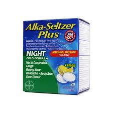 Alka-Seltzer Plus Night Time Cold Liquigel (Apap/Dextromethorphan/Doxylamine/Pse)