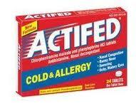 Actifed Allergy Day/Night (Diphenhydr Amine Pseudoephedrine)
