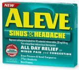 Aleve Sinus & Headache (Naproxen Pseudoephedrine)
