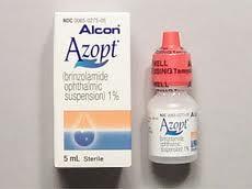 Azopt (Brinzolamide Ophthalmic)