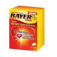 Bayer Aspirin with Heart Advantage