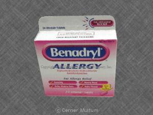 Benadryl (Diphenhydr Amine)