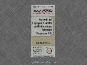 Hydrocortisone/Neomycin/Polymyxin B Ophth