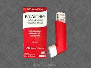 Proventil HFA (Albuterol)