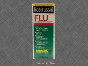 Robitussin Flu (Apap/Chlorpheniramine/Dextromethorphan/Pse)