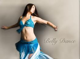 A graceful belly dance