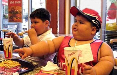 Obese Children's Hearts in Danger
